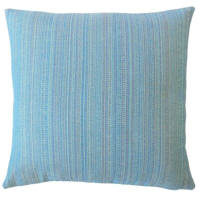 Voluntown Striped Down Filled Throw Pillow Size: 22 x 22, Color: Seaside