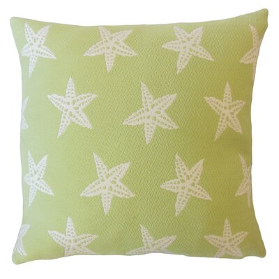 Plympton Coastal Down Filled Throw Pillow Size: 18 x 18, Color: Tropique