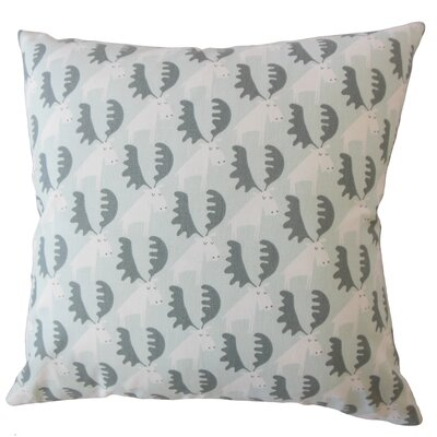Babin Graphic Down Filled 100% Cotton Throw Pillow Size: 18 x 18