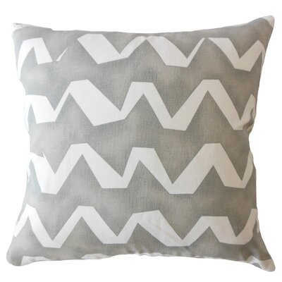 Wiersma Geometric Down Filled 100% Cotton Throw Pillow Size: 18