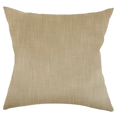 Mckayla Stain Resistant Down Filled Throw Pillow Color: Cay