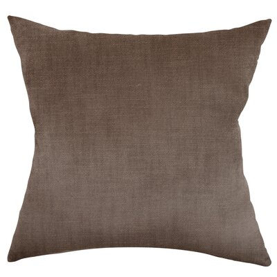 Mckayla Stain Resistant Down Filled Throw Pillow Color: Flint
