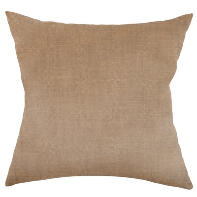 Mckayla Stain Resistant Down Filled Throw Pillow Color: Greige