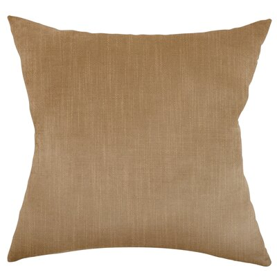 Mckayla Stain Resistant Down Filled Throw Pillow Color: Jute