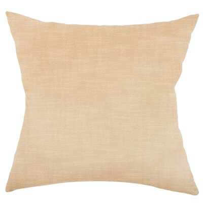 Mckayla Stain Resistant Down Filled Throw Pillow Color: Porcelain