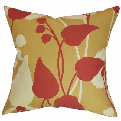 Gardenia Floral Bedding Sham Size: Queen