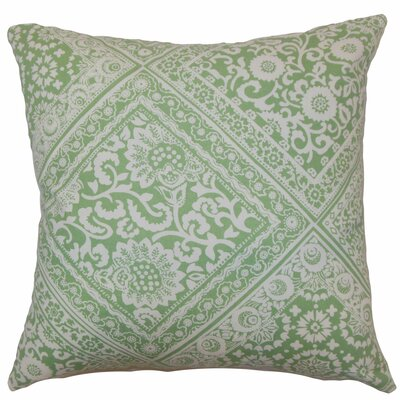 Kayea Floral Cotton Throw Pillow Size: 18 x 18