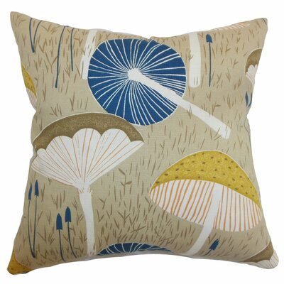 Xichan Floral Throw Pillow Color: Burlap, Size: 22 x 22