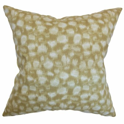 Kibby Throw Pillow Color: Sand, Size: 20 x 20