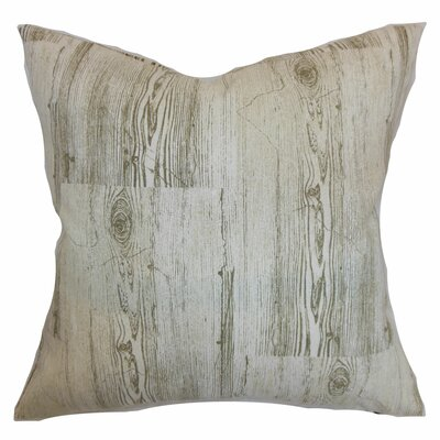 Sherilyn Throw Pillow Color: Dove, Size: 18 x 18