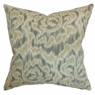 Arsenault Throw Pillow Color: Sand, Size: 18 x 18
