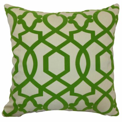 Maeret Moorish Tile Cotton Throw Pillow Size: 24 x 24