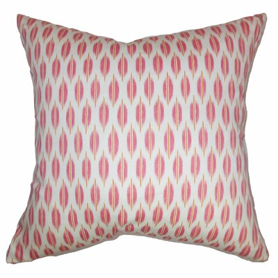 Ebb Web Cotton Throw Pillow Size: 20
