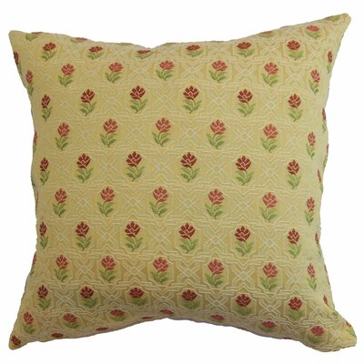 Janaya Floral Throw Pillow Size: 18x18