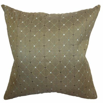 Belevia Diamond Throw Pillow Size: 18x18