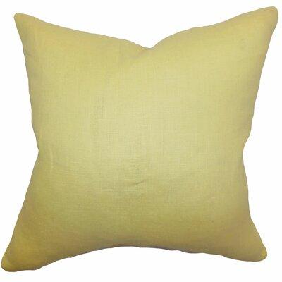 Idalya Solid Bedding Sham Size: Queen