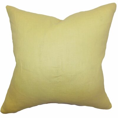 Idalya Solid Bedding Sham Size: Euro