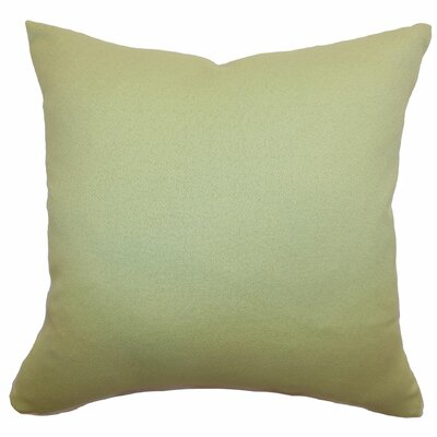 Xana Plain Cotton Throw Pillow Size: 18x18