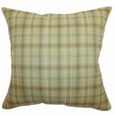 Adelasia Plaid Cotton Throw Pillow Size: 22 x 22