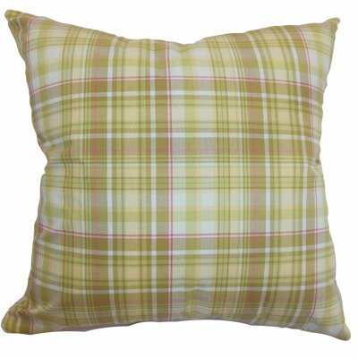 Banff Plaid Bedding Sham Size: Euro