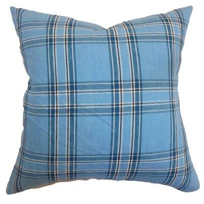 The Pillow Collection Caravelas Plaid Pillow
