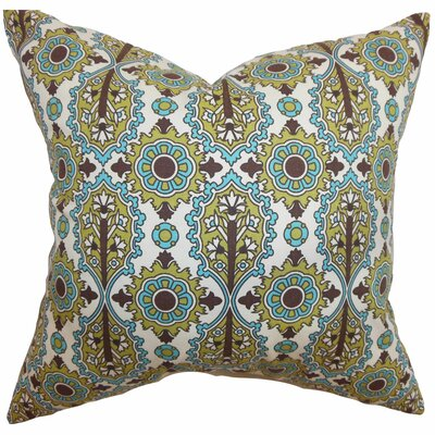 Yelimane Geometric Cotton Throw Pillow Size: 24 x 24