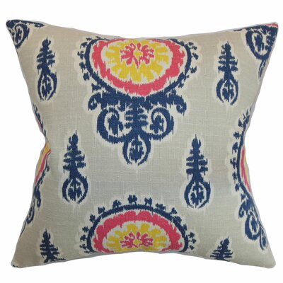 Oenpelli Ikat Bedding Sham Size: Queen, Color: Birch