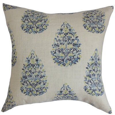 Faeyza Throw Pillow Color: Blue / Green, Size: 18 x 18