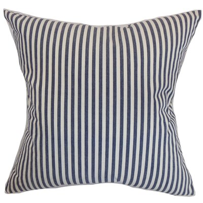 Neptune Cotton Throw Pillow Size: 18 x 18