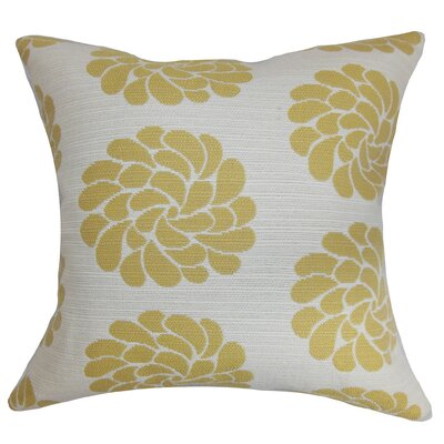 Ellisras Floral Throw Pillow Size: 24 x 24