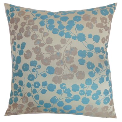 Reynosa Throw Pillow Color: Blue Haze, Size: 18 x 18