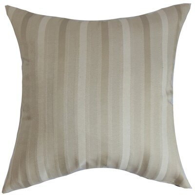 Giroflee Stripes Throw Pillow Size: 18 x 18
