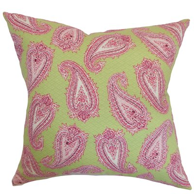 Wasum Paisley Cotton Throw Pillow Cover