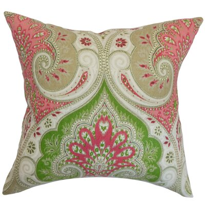 Yakutat Paisley Cotton Throw Pillow Cover