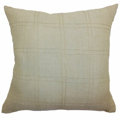 Yachne Ribbed Cotton Throw Pillow Size: 20 x 20