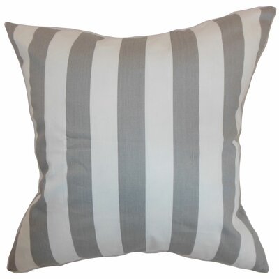 Ilaam Stripes Bedding Sham Size: Euro, Color: Storm
