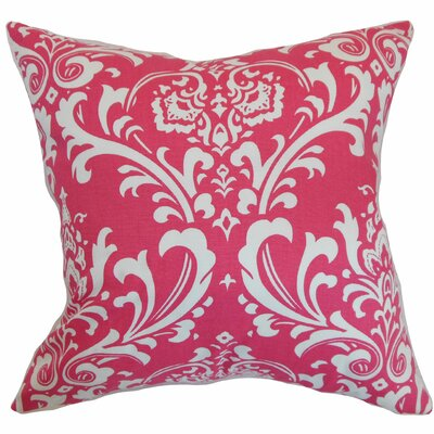 Keeley Damask Bedding Sham Size: Euro, Color: Candy Pink