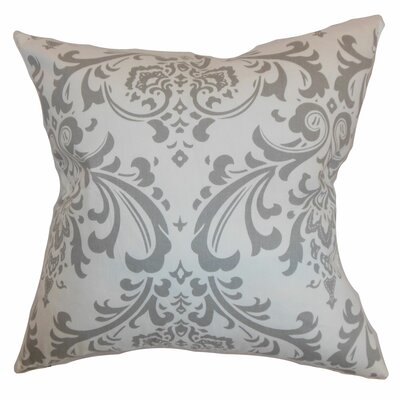 Olavarria Damask Bedding Sham Size: King, Color: Storm