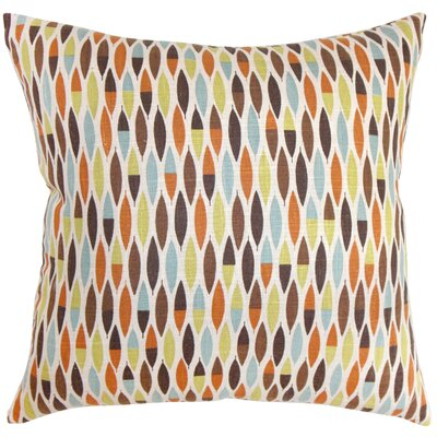 Candie Linen Throw Pillow Color: Autumn, Size: 22 x 22