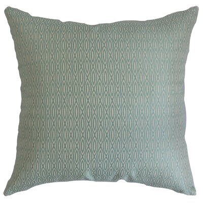 Whitney Geometric Cotton Throw Pillow Cover