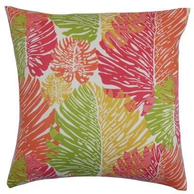 Eilis Floral Outdoor Throw Pillow Cover