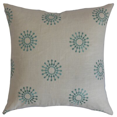 Irece Floral Cotton Throw Pillow Size: 22 x 22