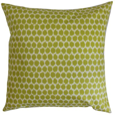 Fiachra Cotton Throw Pillow Size: 18x18