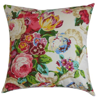 Jill Floral Bedding Sham Size: Queen