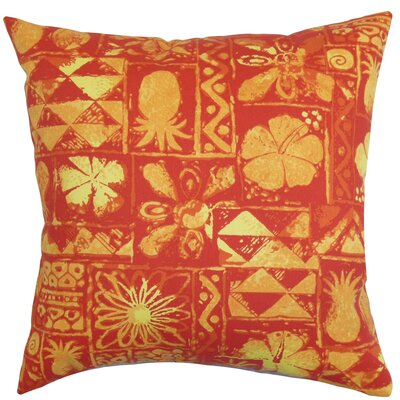 Gleda Floral Outdoor Throw Pillow Cover