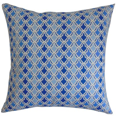 Upavon Geometric Cotton Throw Pillow