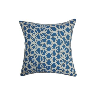 Makani Geometric Cotton Throw Pillow