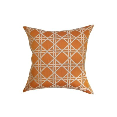 Sorenson Diamonds Cotton Throw Pillow Cover