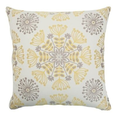 Jamesie Floral Throw Pillow Color: Multi, Size: 18 x 18