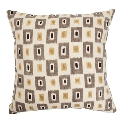 Dagwood Box Throw Pillow Color: Cinder, Size: 18 x 18